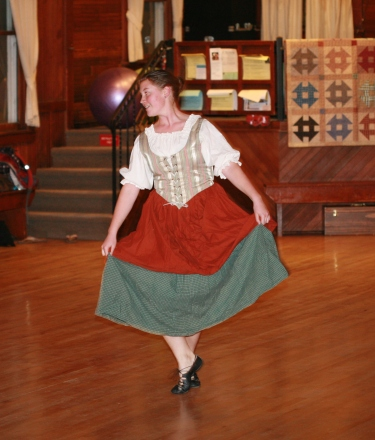 youth and family scottish dance